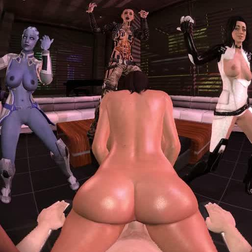 Mass Effect Sexy Dance Party