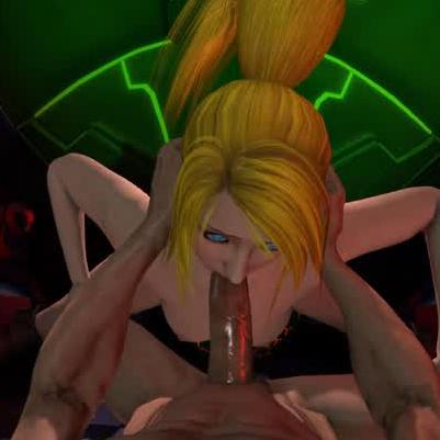 Metroid's Samus Blowjob for VR