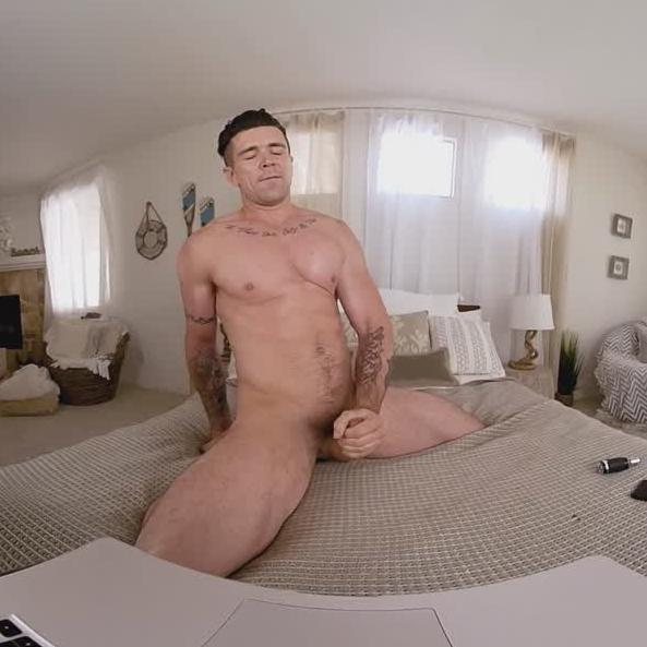 Solo Gay VR Masturbation