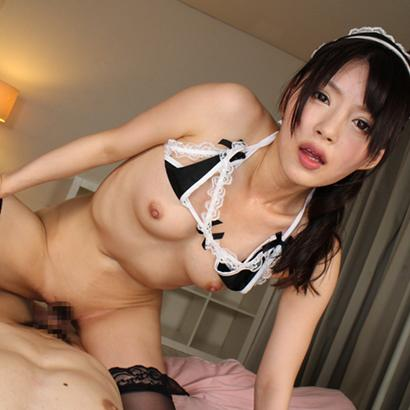 Creampie for Horny Japanese Maid