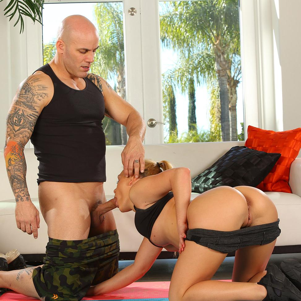 Abby Cross Gets Stretched