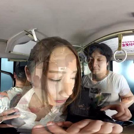 Japanese Girl Molested on Bus