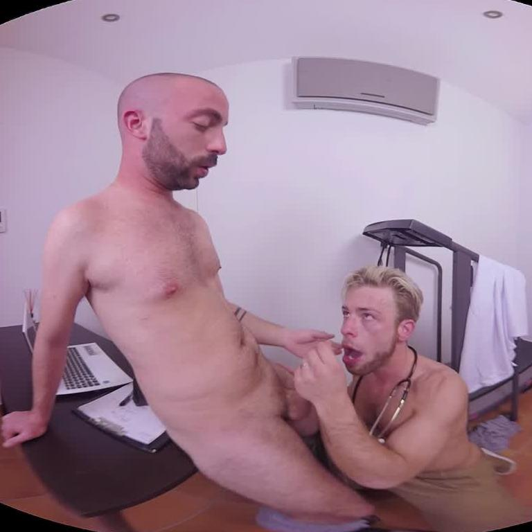 3D Gay Sex at the Doctors office