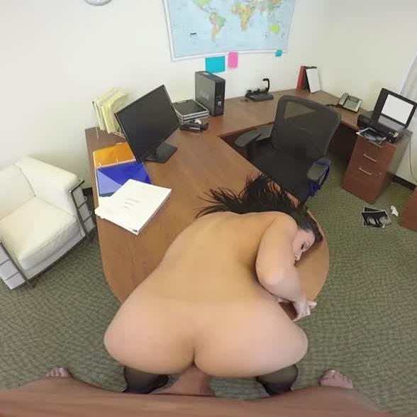 Busty Babe Getting Cock at the Office