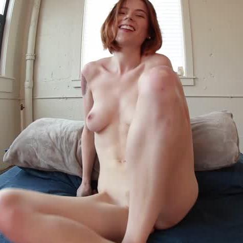 Redhead Shows Her Ass & Teases