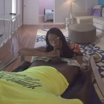VR Black Girl Sucking BBC