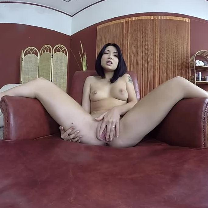 Beautiful Asian and her Sex Toys