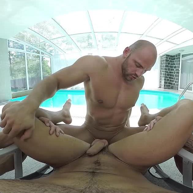 Swimming in Cum for Gay VR Porn