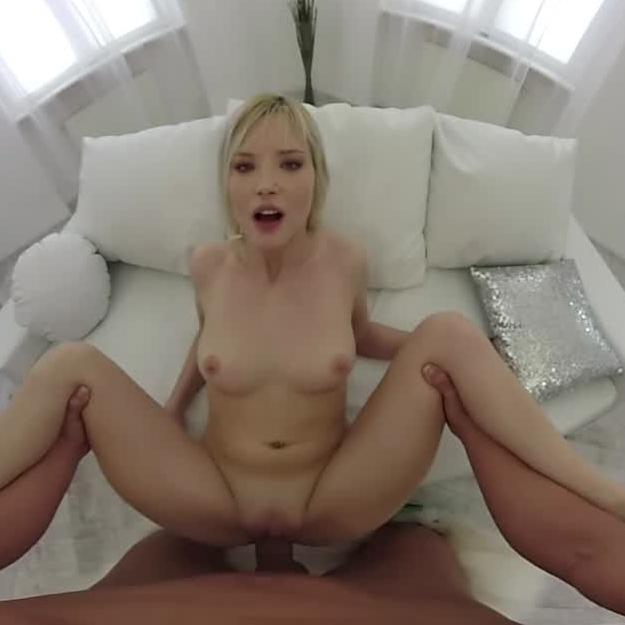 VR Facial Cumshot for Hot Blonde