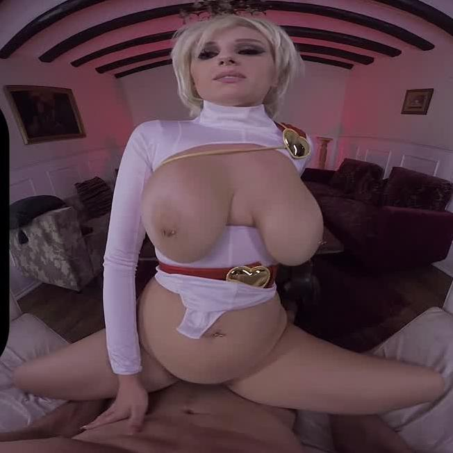 Powergirl Gets Her Ass Fucked in VR porn Parody