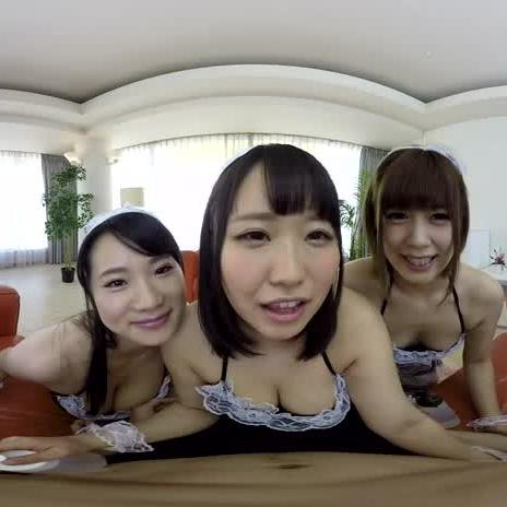 Three Young Japanese Girls Vs. Your Cock