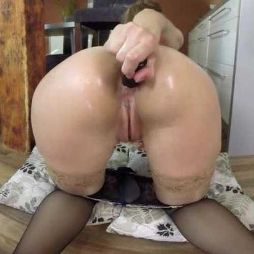 Carol Gold in Her Anal Play Phase